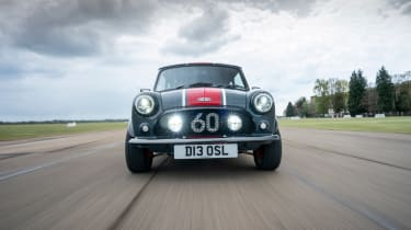 David Brown Automotive Mini Remastered Oselli Edition - full front action