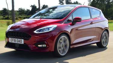 Ford Fiesta - Front Tracking