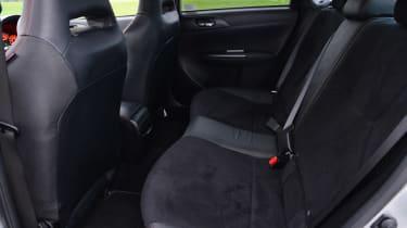 Subaru WRX STi 320R rear seats