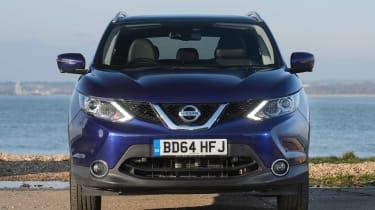 Used Nissan Qashqai Mk2 - full front