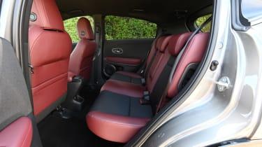 Honda HR-V Sport - rear seats
