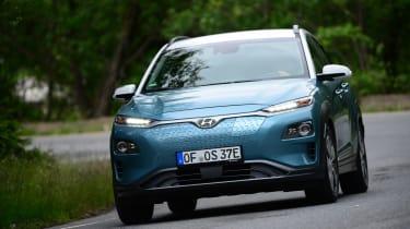 Hyundai Kona Electric - front action