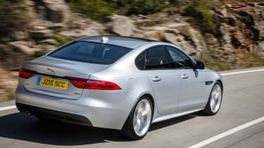 Jaguar XF R-Sport - rear
