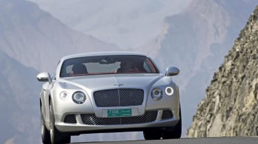 New Bentley Continental GT front 1