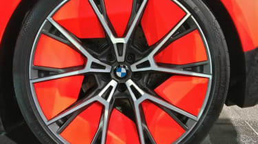 BMW Vision M NEXT concept - reveal wheel