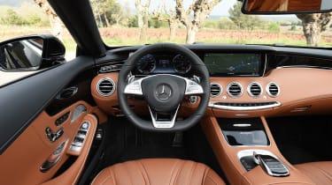 Mercedes-AMG S 63 Cabriolet 2016 - interior