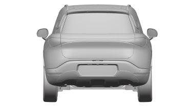 Smart SUV - design patent full rear