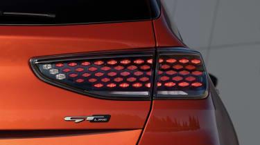 Kia Ceed facelift - rear light