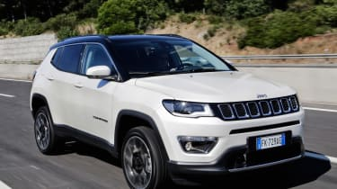2017 Jeep Compass - front