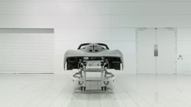 McLaren Speedtail - monocoque shell - rear static