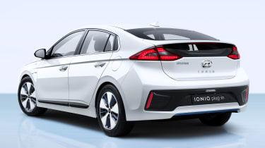 Hyundai Ioniq plug-in PHEV - rear quarter