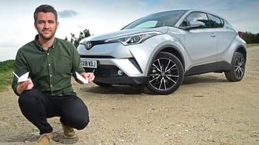 Toyota C-HR - origami