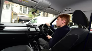 Skoda Fabia SE L: long-term test review - first report in-car