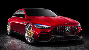 Mercedes-AMG GT Concept - front static