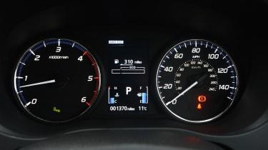 Mitsubishi Outlander - speedo