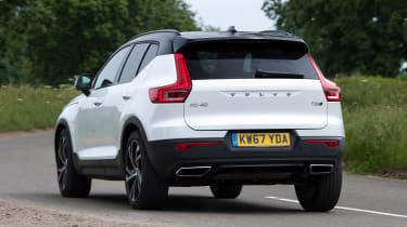 Volvo XC40 - rear cornering