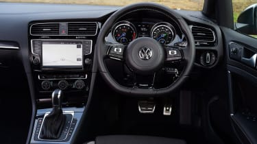 Volkswagen Golf R Estate dashboard