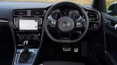 Volkswagen Golf R Estate dashboard