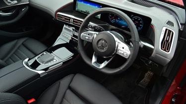 Mercedes EQC - long termer interior