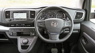 Vauxhall Vivaro Life 2019 dashboard