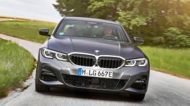 BMW 330e - full front