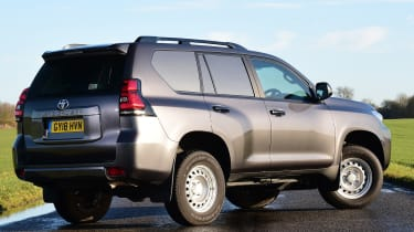 Toyota Land Cruiser Utility Commercial - rear static