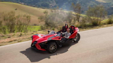 Polaris Slingshot - above