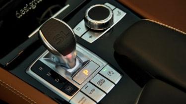 Mercedes SL400 - centre console