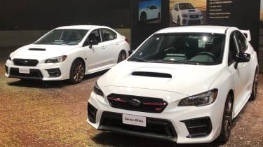 Subaru stand - LA Motor Show