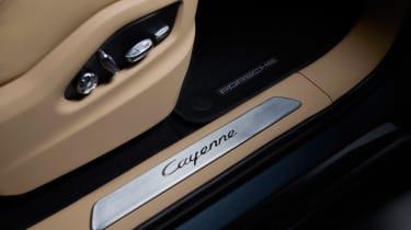 Porsche Cayenne - sill