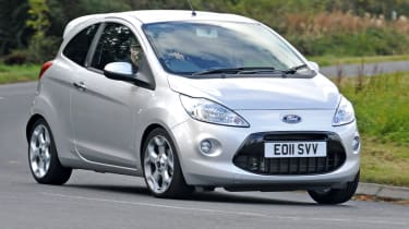 Ford Ka Practicality Boot Size Dimensions Luggage Capacity