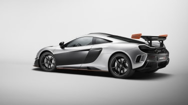 McLaren MSO R Coupe rear