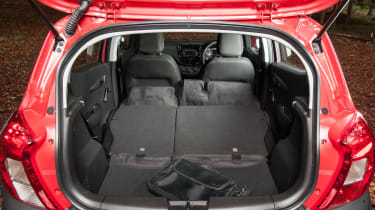 Vauxhall Viva Rocks - boot seats down