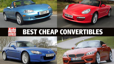 Best cheap convertibles