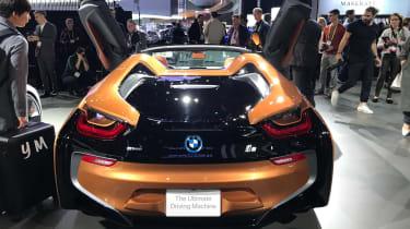 BMW i8 Roadster LA show pics