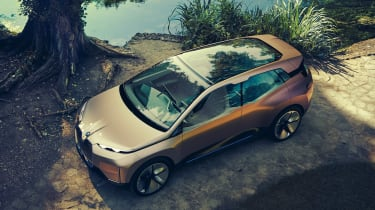 BMW Vision iNEXT concept - above