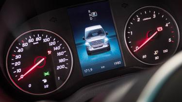 Mercedes Sprinter - dials