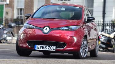 Renault ZOE - front cornering