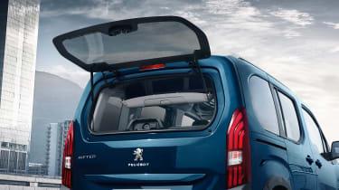 Peugeot Rifter - rear window opening