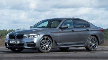 BMW 5 Series 2017 - 540i front quarter