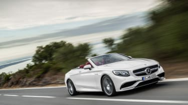 Mercedes S-Class Cabriolet 11