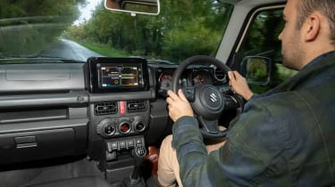 Suzuki Jimny - long term test - Batch driving