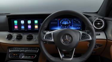 Mercedes E 300 de- interior