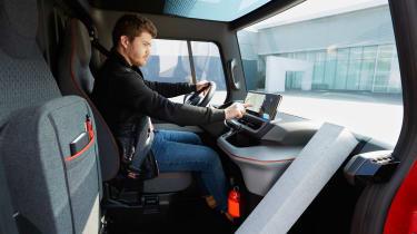 Renault EZ-FLEX - interior