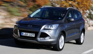New Ford Kuga front action