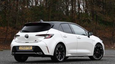 Toyota Corolla GR Sport - rear static