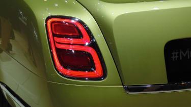 Bentley Mulsanne Speed - Geneva show rear light detail