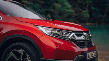Honda CR-V - bonnet