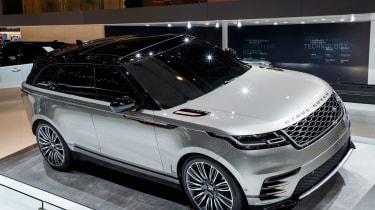 Range Rover Velar show  - front static