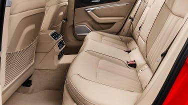 New Audi A6 - rear seats